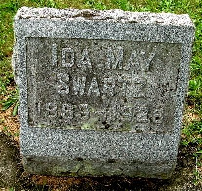 SWARTZ, IDA M - Calhoun County, Michigan   IDA M SWARTZ - Michigan Gravestone Photos
