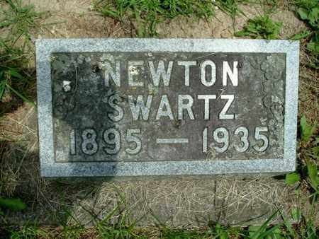 SWARTZ, NEWTON - Calhoun County, Michigan | NEWTON SWARTZ - Michigan Gravestone Photos