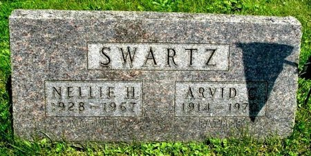 SWARTZ, ARVID - Calhoun County, Michigan   ARVID SWARTZ - Michigan Gravestone Photos