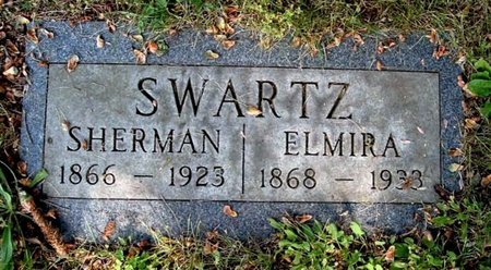 SWARTZ, ELMIRA - Calhoun County, Michigan | ELMIRA SWARTZ - Michigan Gravestone Photos