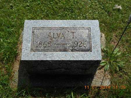 SWEET, ALVA T. - Calhoun County, Michigan | ALVA T. SWEET - Michigan Gravestone Photos