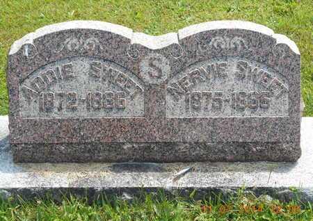 SWEET, ADDIE - Calhoun County, Michigan | ADDIE SWEET - Michigan Gravestone Photos