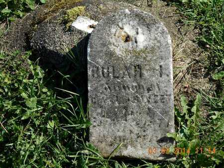 SWEET, BULAH - Calhoun County, Michigan | BULAH SWEET - Michigan Gravestone Photos