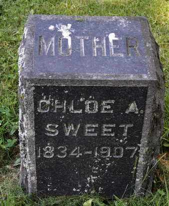 SWEET, CHLOE A - Calhoun County, Michigan | CHLOE A SWEET - Michigan Gravestone Photos