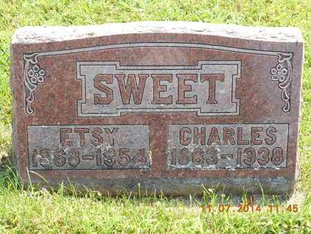 SWEET, CHARLES - Calhoun County, Michigan | CHARLES SWEET - Michigan Gravestone Photos
