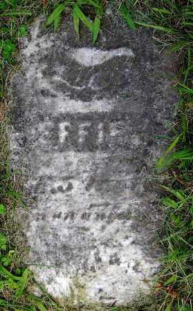 SWEET, EFFIE - Calhoun County, Michigan | EFFIE SWEET - Michigan Gravestone Photos