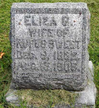 SWEET, ELIZA G - Calhoun County, Michigan | ELIZA G SWEET - Michigan Gravestone Photos