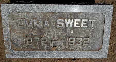 SWEET, EMMA - Calhoun County, Michigan   EMMA SWEET - Michigan Gravestone Photos