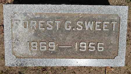 SWEET, FOREST G - Calhoun County, Michigan | FOREST G SWEET - Michigan Gravestone Photos