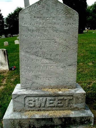 SWEET, FAMILY MARKER - Calhoun County, Michigan | FAMILY MARKER SWEET - Michigan Gravestone Photos
