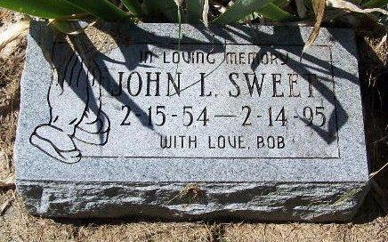 SWEET, JOHN L - Calhoun County, Michigan | JOHN L SWEET - Michigan Gravestone Photos