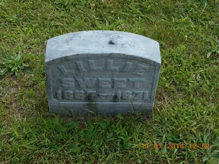 SWEET, LILLIE - Calhoun County, Michigan   LILLIE SWEET - Michigan Gravestone Photos