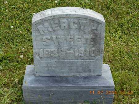 SWEET, MERCY P. - Calhoun County, Michigan | MERCY P. SWEET - Michigan Gravestone Photos