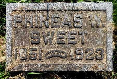 SWEET, PHINEAS W - Calhoun County, Michigan | PHINEAS W SWEET - Michigan Gravestone Photos