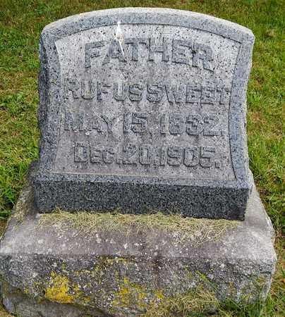 SWEET, RUFUS - Calhoun County, Michigan | RUFUS SWEET - Michigan Gravestone Photos