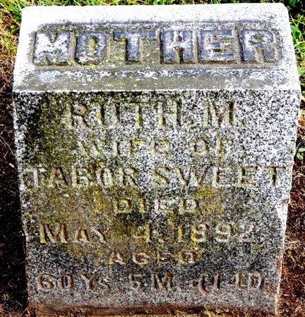 SWEET, RUTH M - Calhoun County, Michigan | RUTH M SWEET - Michigan Gravestone Photos