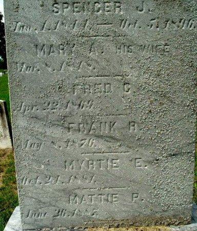 SWEET, MARY A. - Calhoun County, Michigan | MARY A. SWEET - Michigan Gravestone Photos