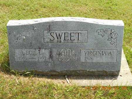 SWEET, CECIL L. - Calhoun County, Michigan | CECIL L. SWEET - Michigan Gravestone Photos