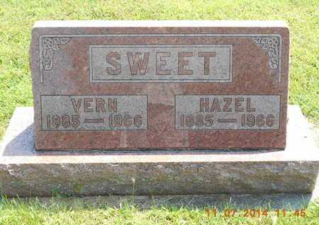 SWEET, HAZEL - Calhoun County, Michigan | HAZEL SWEET - Michigan Gravestone Photos