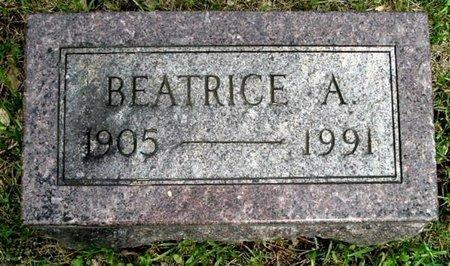 TAYLOR, BEATRICE A - Calhoun County, Michigan   BEATRICE A TAYLOR - Michigan Gravestone Photos