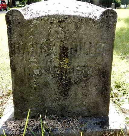 MILLER, NANCY - Calhoun County, Michigan | NANCY MILLER - Michigan Gravestone Photos