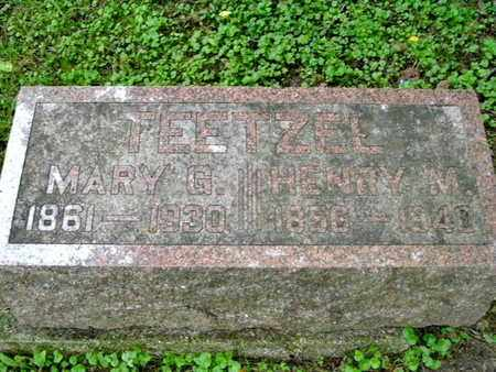 TEETZEL, HENRY M. - Calhoun County, Michigan | HENRY M. TEETZEL - Michigan Gravestone Photos