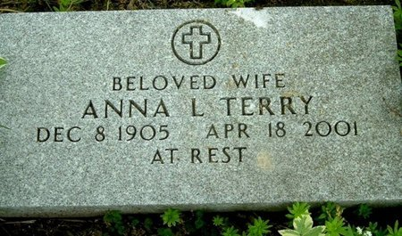 TERRY, ANNA L - Calhoun County, Michigan | ANNA L TERRY - Michigan Gravestone Photos