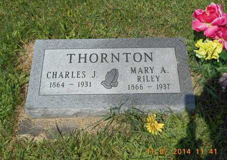 THORNTON, CHARLES J. - Calhoun County, Michigan | CHARLES J. THORNTON - Michigan Gravestone Photos