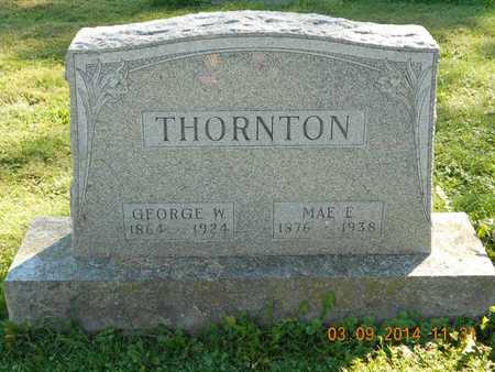 THORNTON, GEORGE W. - Calhoun County, Michigan | GEORGE W. THORNTON - Michigan Gravestone Photos
