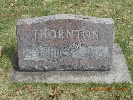 THORNTON, LEE B. - Calhoun County, Michigan | LEE B. THORNTON - Michigan Gravestone Photos
