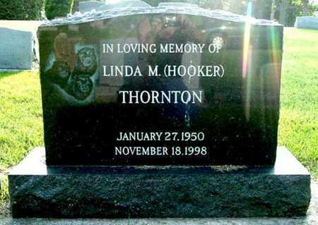THORNTON, LINDA M - Calhoun County, Michigan | LINDA M THORNTON - Michigan Gravestone Photos