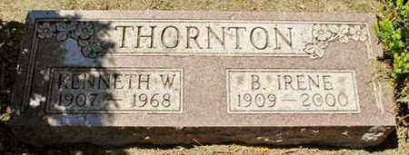 THORNTON, B. IRENE - Calhoun County, Michigan | B. IRENE THORNTON - Michigan Gravestone Photos