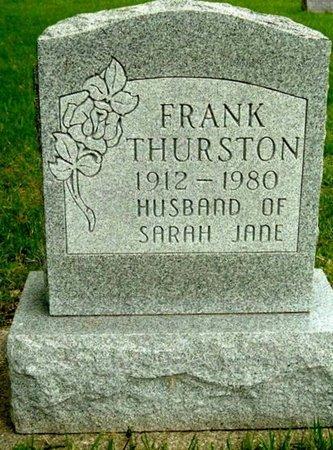 THURSTON, FRANK - Calhoun County, Michigan   FRANK THURSTON - Michigan Gravestone Photos