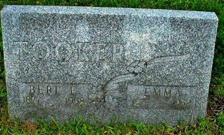 TOOKER, EMMA - Calhoun County, Michigan | EMMA TOOKER - Michigan Gravestone Photos