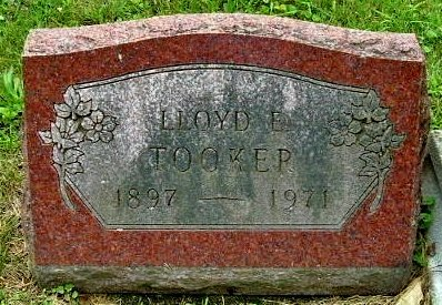 TOOKER, LLOYD E - Calhoun County, Michigan | LLOYD E TOOKER - Michigan Gravestone Photos