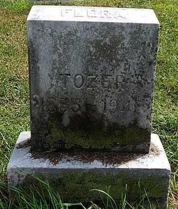 TOZER, FLORA A - Calhoun County, Michigan | FLORA A TOZER - Michigan Gravestone Photos