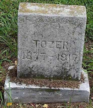 TOZER, LYNN G - Calhoun County, Michigan | LYNN G TOZER - Michigan Gravestone Photos
