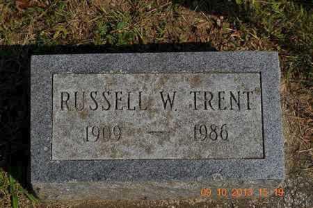 TRENT, RUSSELL W. - Calhoun County, Michigan   RUSSELL W. TRENT - Michigan Gravestone Photos