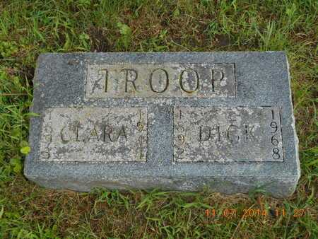 TROOP, CLARA - Calhoun County, Michigan | CLARA TROOP - Michigan Gravestone Photos
