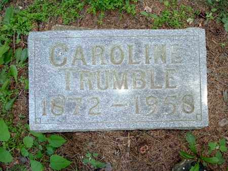 TRUMBLE, CAROLINE - Calhoun County, Michigan | CAROLINE TRUMBLE - Michigan Gravestone Photos