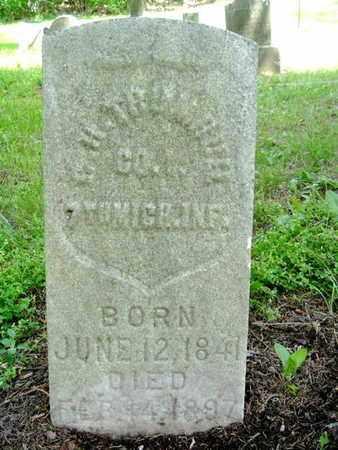 TRUMBULL (TRUMBLE), CHARLES H. - Calhoun County, Michigan | CHARLES H. TRUMBULL (TRUMBLE) - Michigan Gravestone Photos