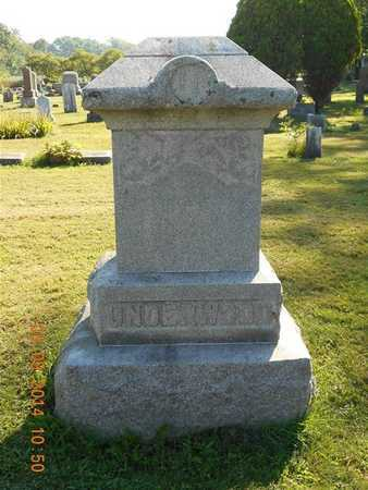 UNDERWOOD, FAMILY - Calhoun County, Michigan   FAMILY UNDERWOOD - Michigan Gravestone Photos