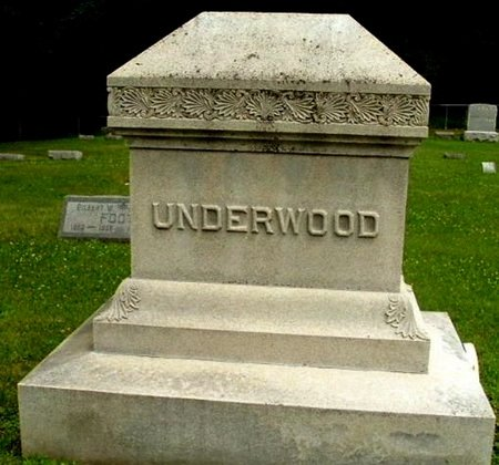 UNDERWOOD, FAMILY MARKER - Calhoun County, Michigan | FAMILY MARKER UNDERWOOD - Michigan Gravestone Photos