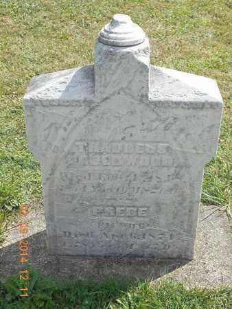 UNDERWOOD, THADDEUS - Calhoun County, Michigan   THADDEUS UNDERWOOD - Michigan Gravestone Photos
