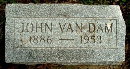 VAN DAM, JOHN - Calhoun County, Michigan | JOHN VAN DAM - Michigan Gravestone Photos