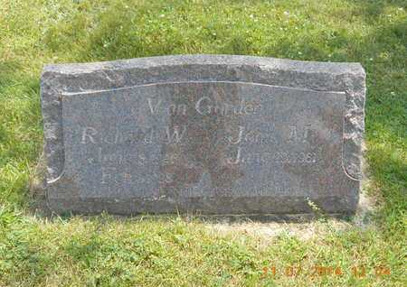 VAN GORDER, RICHARD W. - Calhoun County, Michigan   RICHARD W. VAN GORDER - Michigan Gravestone Photos