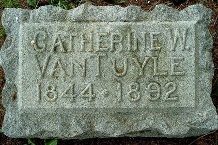 VAN TUYLE, CATHERINE W - Calhoun County, Michigan | CATHERINE W VAN TUYLE - Michigan Gravestone Photos