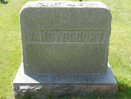 VANDYBOGURT, FAMILY - Calhoun County, Michigan | FAMILY VANDYBOGURT - Michigan Gravestone Photos