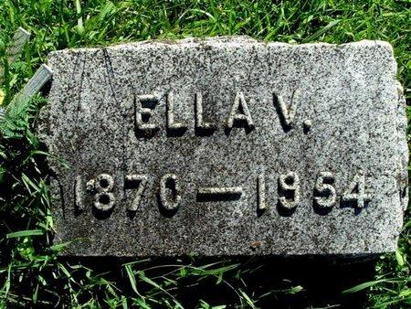 VAUGHAN, ELLA V. - Calhoun County, Michigan   ELLA V. VAUGHAN - Michigan Gravestone Photos