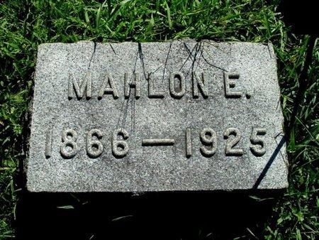 VAUGHAN, MAHLON E. - Calhoun County, Michigan   MAHLON E. VAUGHAN - Michigan Gravestone Photos